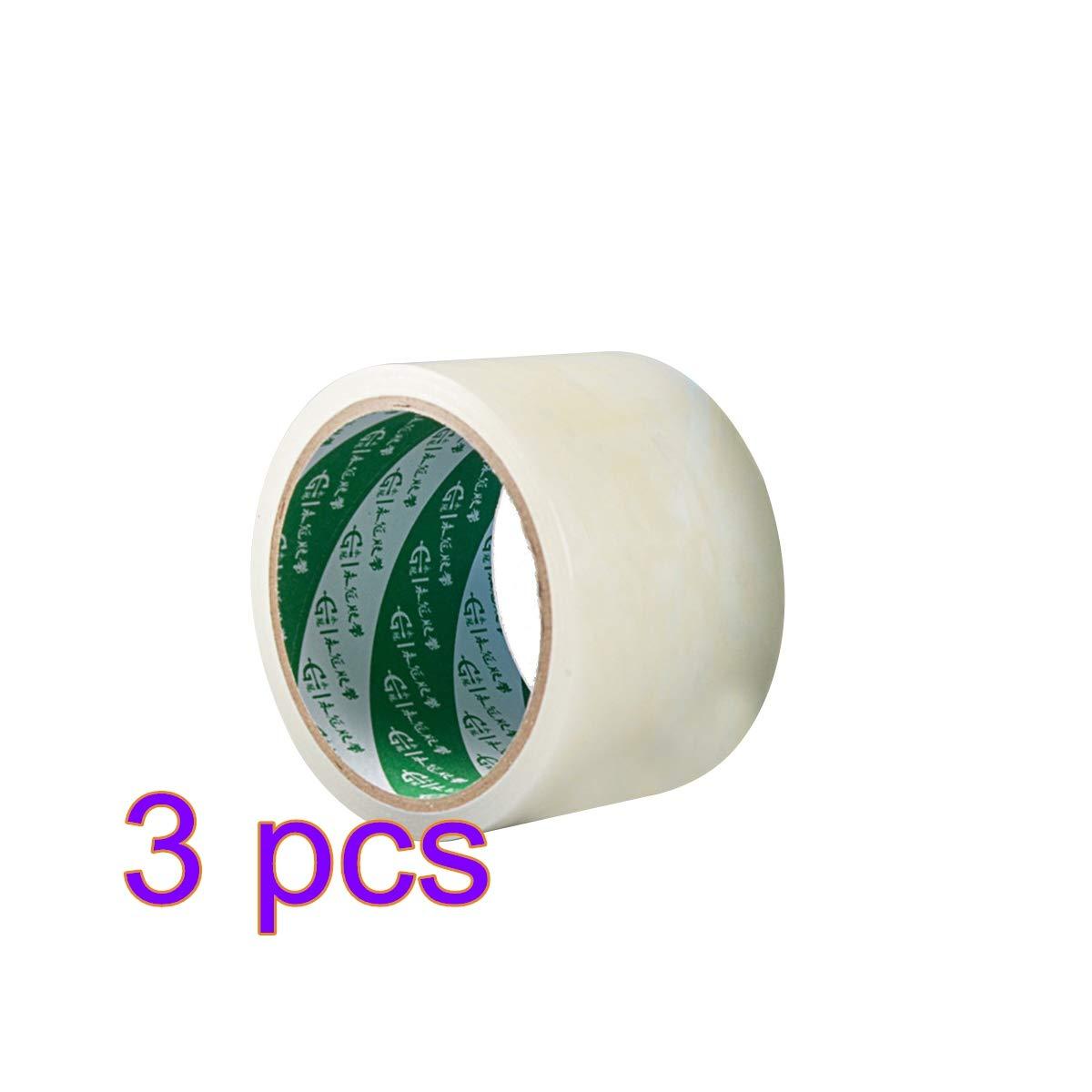 Yardwe 3pcs Farmer Greenhouse Repair Tape Patch Clear Outdoor Poly Repair Tape (White)