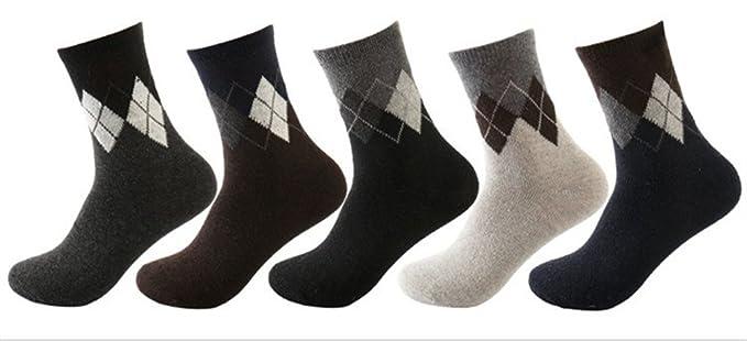 Calcetines en las medias de tubo calcetines de invierno hombres y mujeres