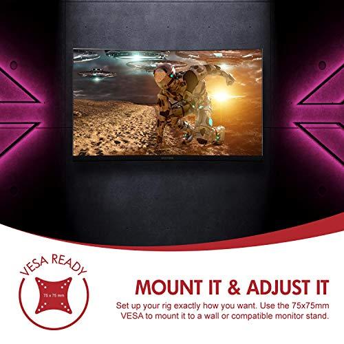 Viotek GN24CW Gaming Monitor Speakers, 1080P VA 2 HDMI FreeSync VESA