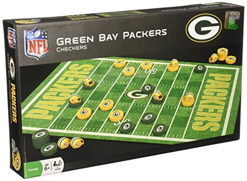 (MasterPieces NFL Green Bay Packers Checkers Game)