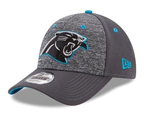 (NFL Carolina Panthers Adult Men The League Shadow 2 9FORTY Adjustable Cap, One Size, Graphite)