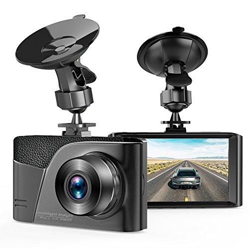 Dash Cam,TUSAZU Camera for Cars with Full HD 1080P 170 Degree Super Wide Angle Cameras, 3.0