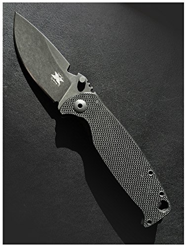 HEST Grey Niolox Folding Knife