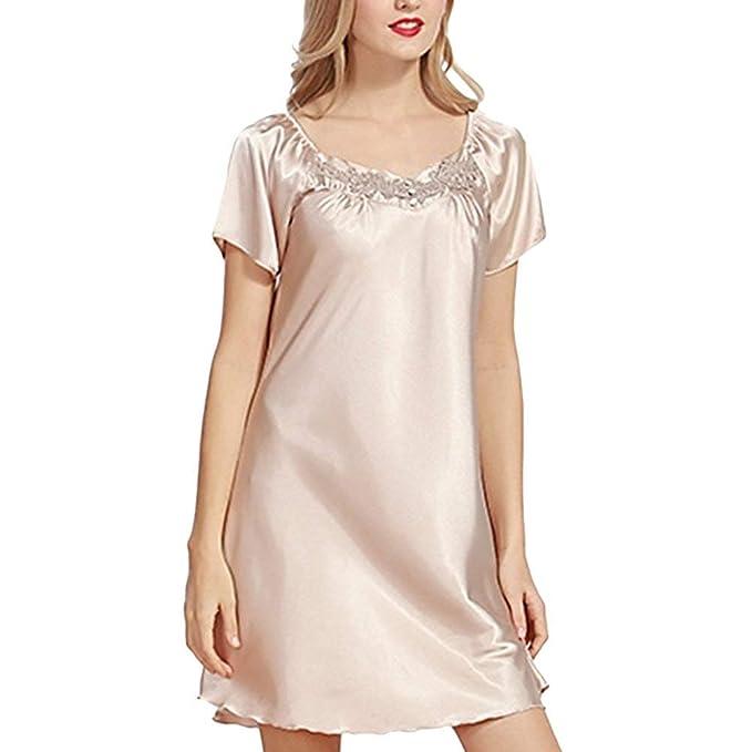 Camisón Vestido Mujer Elegantes Moda Exquisito Camisones ...