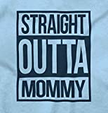 Brisco Brands Straight Outta Mommy Funny Shirt   Cool Baby Clothes Compton Romper Bodysuit