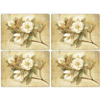 - Pimpernel Sugar Magnolia Placemats Set of 4