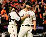 "Buster Posey & Madison Bumgarner San Francisco Giants 2014 World Series Game 5 Photo (Size: 8"" x 10"")"