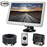 Backup Camera with Monitor Kit for RV, Van, Totally Upgraded Super 9 inch