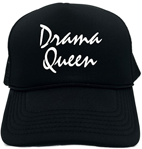 Signature Hat Womens - Funny Trucker Hat (DRAMA QUEEN) Unisex Adult Foam Retro Cap
