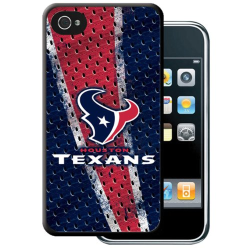 OUST1 Hard Case for iPhone 4-1 Pack - Retail Packaging - Houston Texans ()