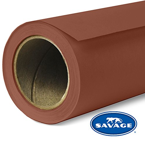 Savage Seamless Background Paper - #16 Chestnut (107 in x 36 ft) by Savage (Image #6)