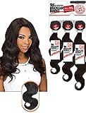 Bleaching Kanekalon Hair - EVE HAIR 3 Pieces Grade 9A+ 100% Unprocessed Virgin Brazilian Remy Hair Bundle - Body Wave - Natural Color - 10 12 14 inches