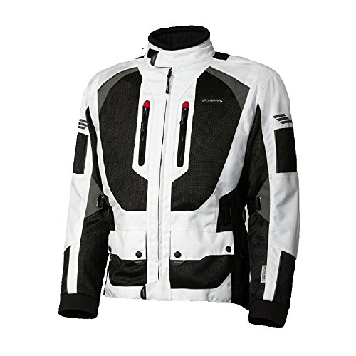 Olympia Sports Dakar 2 Mens Mesh Tech On-Road Racing Motorcycle Jacket Ivory X-Large from Olympia Sports