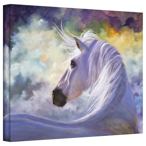 Art Wall Spirit Gallery Wrapped Canvas Art by Marina Petro, 18 by (Spirit Horse Gallery)