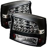 Spyder Auto Dodge Charger 05-08 LED Tail Light,Black