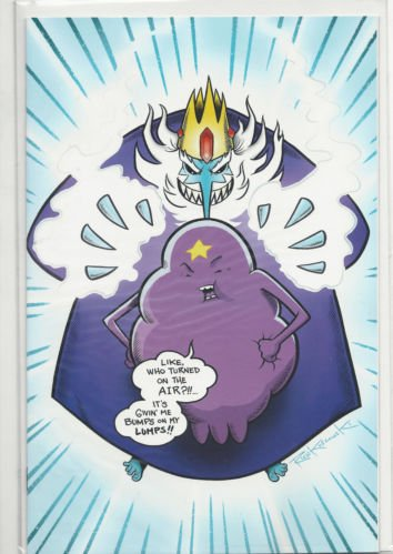 (Adventure Time #11 DF Exclusive Cover Edition Comic Book (Limited Edition of 1000) with COA)