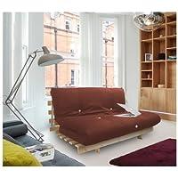 Shopisfy Triple cama futón con rejilla de base
