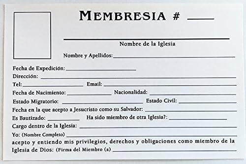 Amazon.com : TARJETA DE MEMBRESIA (50 und.) : Office Products