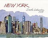 New York Desk Calendar 2018 (English and French Edition)