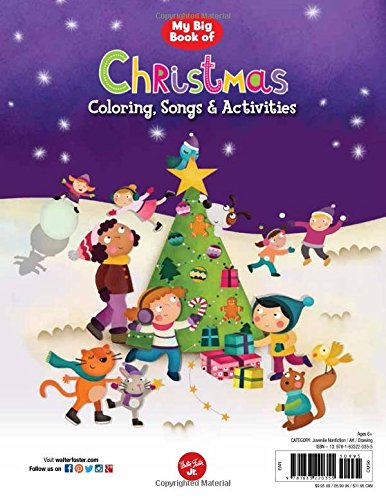 Workbook christmas grammar worksheets : My Big Book of Christmas Coloring, Songs & Activities: Holiday ...