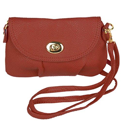 Trachtentasche/Dirndltasche/Damentasche Handytasche Handtasche/Umhängetasche Smartphone - Rot SwLFAmJXe