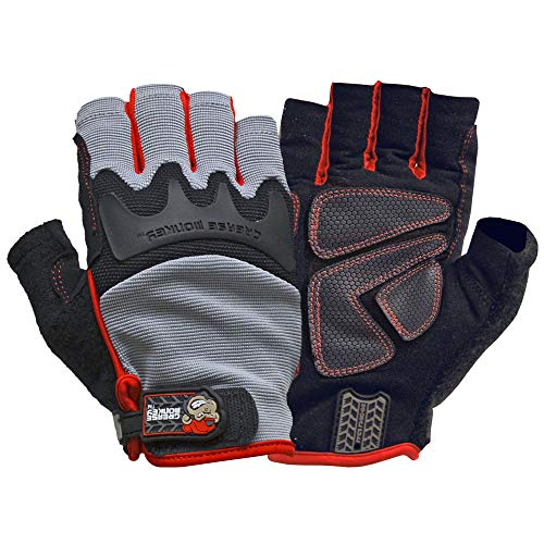 Grease Monkey Pro Fingerless Gloves (Large) ()