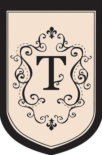 Regal Monogram Estate Flag - T