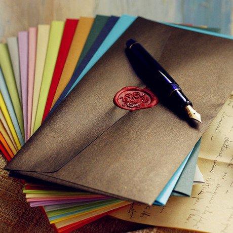 100pcs-wax-envelope-size-220mm-110mm-fluorescent-decorative-envelope-5-colors-wax-sealing-envelope
