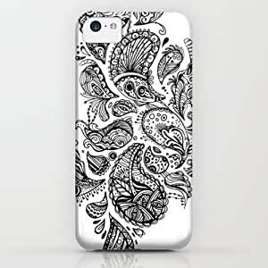 Society6 - Extraterrestrial Paisley iPhone & iPod Case by JenHoney