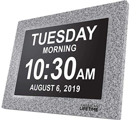 American Lifetime [Newest Version] Day Clock - Extra Large Impaired Vision Digital image