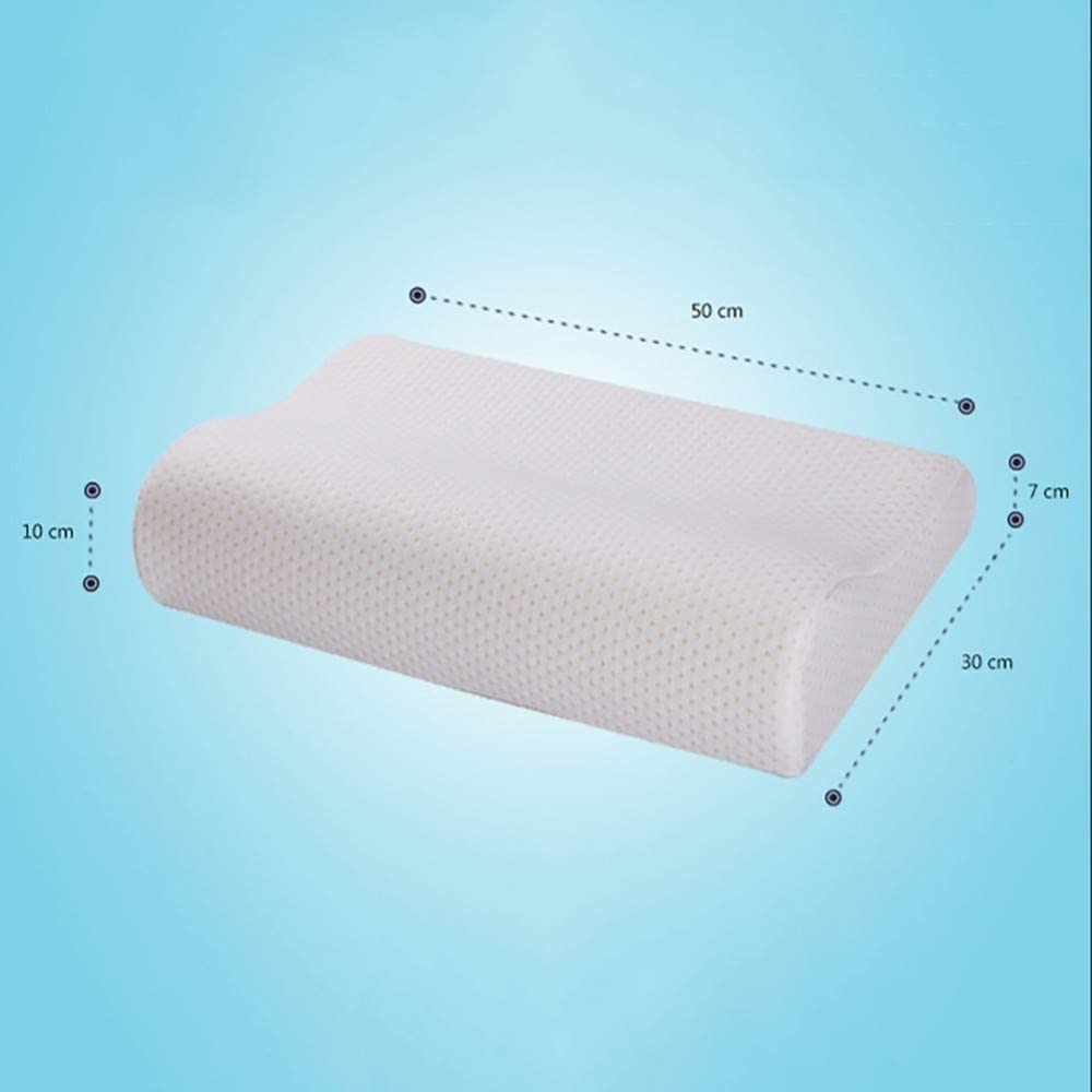 FENGZY 1 ST/ÜCK Durable Memory Foam Kissen Bettw/äsche Kissen Cervical Orthop/ädische Nackendruckentlastung Schlafst/ütze Hilfe Memory Foam Kissen