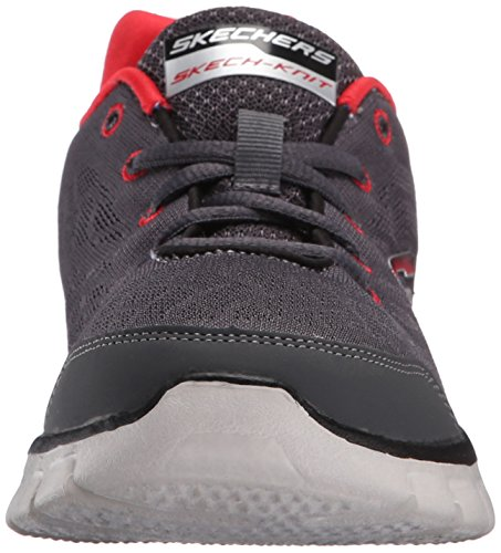 SkechersSynergy Fine Tune - Zapatillas de running para chico Grau - Gris (Gris/Rouge)