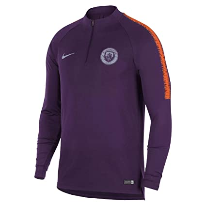 0732147b Image Unavailable. Image not available for. Color: Nike 2018-2019 Man City  Training Drill Top ...