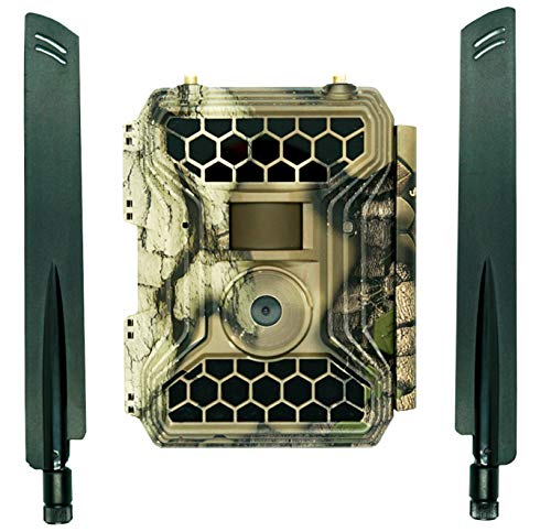 "NEW VERSION Snyper Commander 4G LTE Trail Camera 1080P / 12MP Wireless Trail Camera with 2"" LCD Screen AT&T SIM Card 