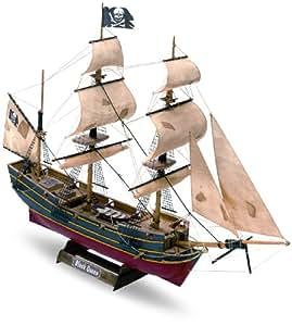 "Mamoli MM 60 - Maqueta de barco a escala 1:135 ""Black queen"" [Importado de Alemania]"
