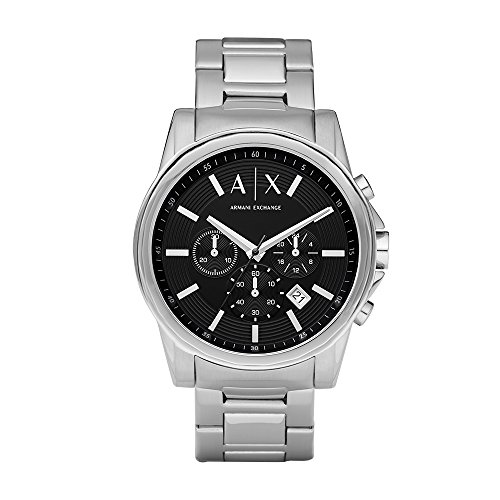 Armani Exchange Men's AX2084 Silver Watch -