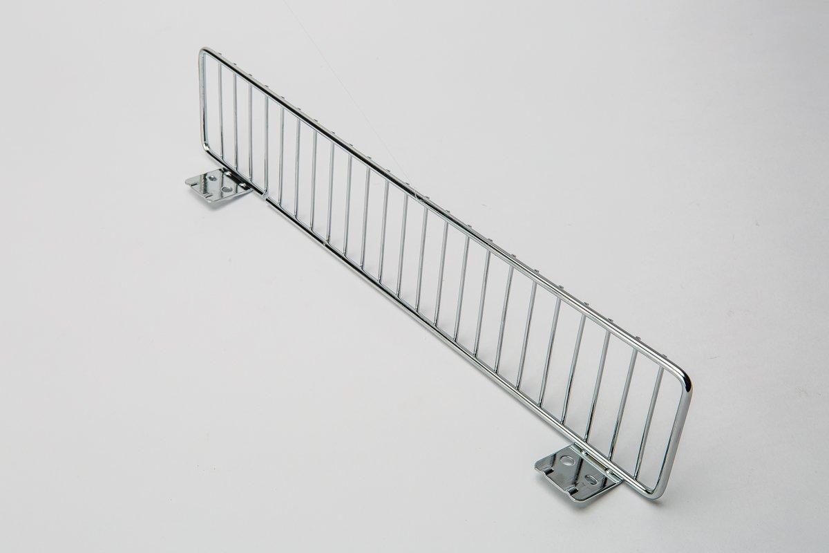 Chrome Slatwall Wire Shelf, 22'' x 14''