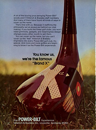 1973 Power Bilt Golf Clubs Vintage Ad -