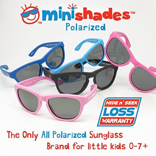 6b40314def Amazon.com  Minishades Polarized Classic Kids Sunglasses