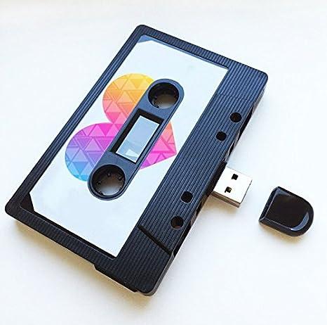 16GB USB Mixtape Retro Quirky Gift Cool Cute Love