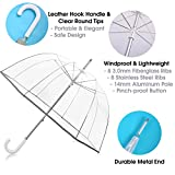 Kung Fu Smith 52 Inch Bubble Clear Umbrella for
