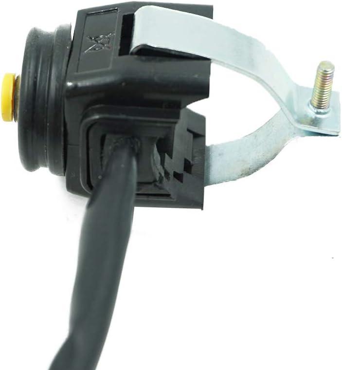 No-branded ZXLLNEUR Motorrad Stop Hupenschalter Universal 7//8 Kill Schalter Hupenknopf Stop 22mm Lenker for Motorrad Color : Gelb