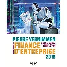 Finance d'Entreprise 2018 (dalloz Gestion) 16e Éd.