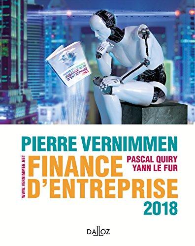 Finance d'entreprise 2018 - 16e éd.