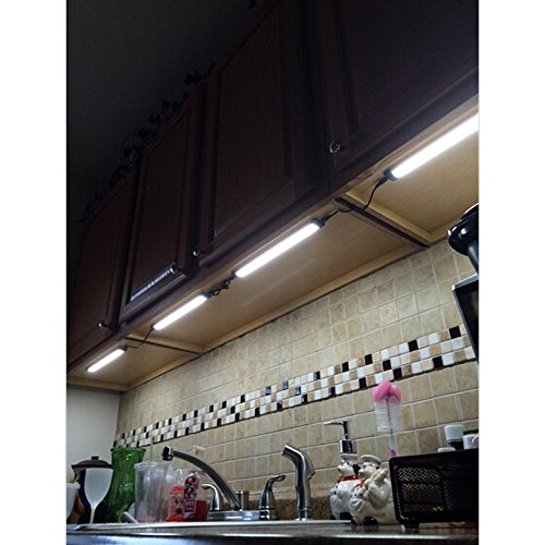 Dimmable Under Cabinet Lighting, 3 Panel Kit, Remote Control ...
