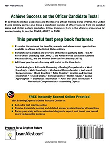 Officer Candidate Tests (Officer Candidate Exams (Learning Express ...