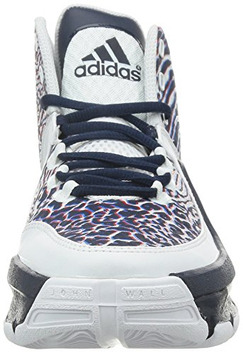adidas Herren J Wall 2 Basketballschuhe Blanco / Rojo / Azul Marino (Ftwbla / Escarl / Maruni)