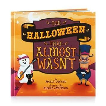 Amazon.com: Hallmark the Halloween That Almost Wasn't Book: Home ...