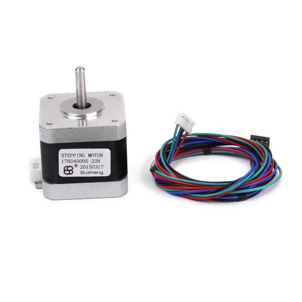 UEETEK Stepper Motor for 3D Printer 4-Wire 1.5A 40mm 1.8° by UEETEK