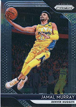 d60fa039a858 Amazon.com  2018-19 Panini Prizm  62 Jamal Murray Denver Nuggets ...